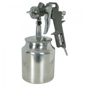 Silverline Spray Gun Suction Feed