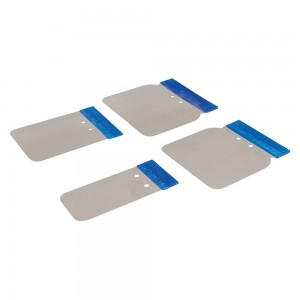 Silverline Stainless Steel Vehicle Body Filler Application Set 4 Piece