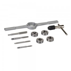 Silverline Tap & Die Set Metric 10 Piece