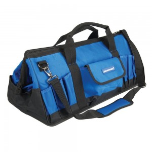 Silverline Tool Bag with Hard Base 600x280x260mm