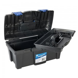 Silverline Tough Plastic Toolbox 460x240x225mm