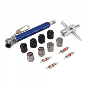 Silverline Tyre Valve Repair Kit 14 Piece