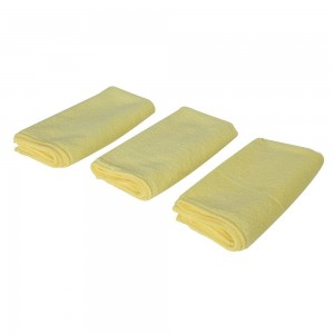 Silverline Vehicle Microfibre Cloth Cleaning Set 3 Piece