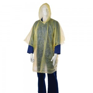 Silverline Waterproof Poncho Emergency Rain Over Jacket