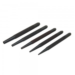 Silverline Woodworking Nail Punch Set 5 Piece