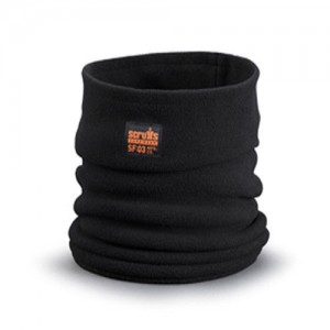 Scruffs Snood Scarf Fleece Neck Warmer Black