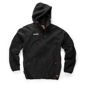 Scruffs Worker Softshell Jacket Black (S-XXL)