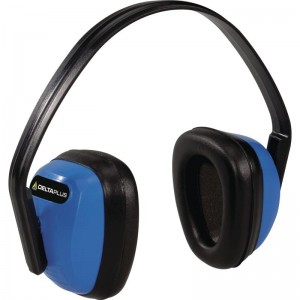 Delta Plus SPA 3 Adjustable Safety Ear Muffs / Defenders Blue SNR 28 dB