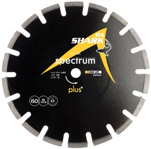 Spectrum DA Plus Asphalt Diamond Blades (Sizes 300mm - 350mm)
