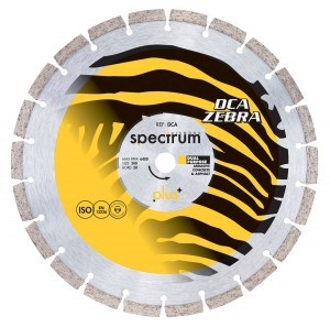 Spectrum DCA Trade Abrasive/ General Purpose Diamond Blade (Sizes 105mm - 450mm)