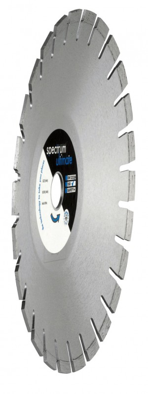 Spectrum LCRV Pavior Curve Cut Diamond Blades (Sizes 115-230mm)