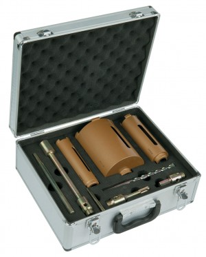 Spectrum MBD3 Plus 3pce Dry Diamond Core Drill Bit Set & Case