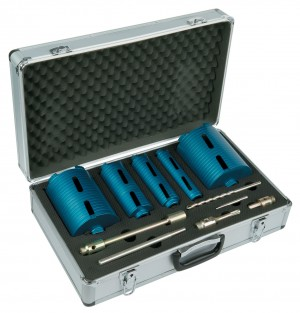 Spectrum MBX5 Ultimate 5pce Dry Diamond Core Drill Bit Set & Case