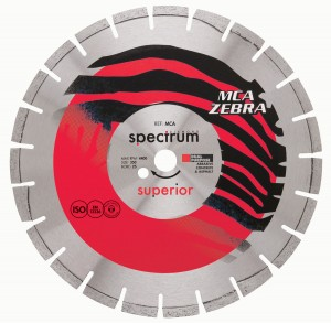 Spectrum MCA ZEBRA Abrasive Diamond Blades (Sizes 105mm-450mm)