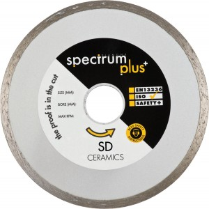 Spectrum SD Ceramic Tile Cutting Diamond Blades (Sizes 115-200mm)