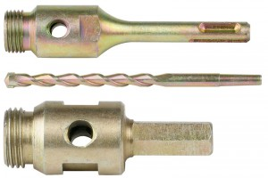 Spectrum SDS Plus Adaptor, Pilot Drill & Drift Key Pack JS03-13 (for Dry Core Drilling)