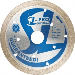 Spectrum SL-PRO Ceramic & Stone Diamond Blades (Sizes 80-350mm)