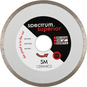 Spectrum SM Ceramic Tile Cutting Diamond Blades (Sizes 100-230mm)