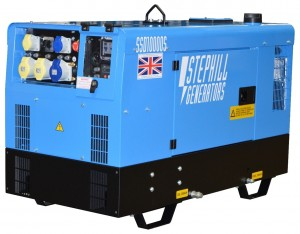 Stephill SSD10000S Super Silent Diesel Generator with Long Run Tank 8.0kW/10.0kVA