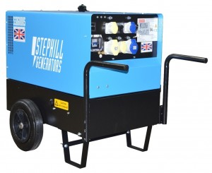 Stephill SSD6000S Ultra Low Noise Diesel Generator with Long Run Tank 4.8kW/6.0kVA