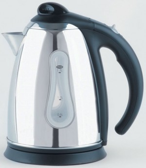 Stainless Steel Cordless Jug Kettle 3kW 1.7 Litre
