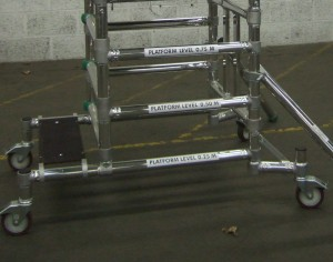 Step Platform for Euro Microfold Podium Steps