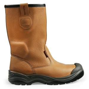 Scruffs Gravity Safety Rigger Work Boots Tan (Sizes 7-12)