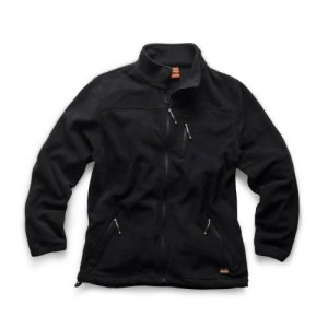 Scruffs Worker Fleece Insulated Black (Sizes S-XXL)