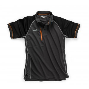 Scruffs Trade Active Polo Shirt Graphite Grey (Sizes S-XXL) Hardwearing Workwear