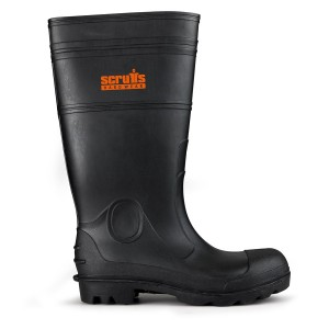 Scruffs Hayeswater Safety Waterproof Wellington Boots Black (Sizes 7-12)