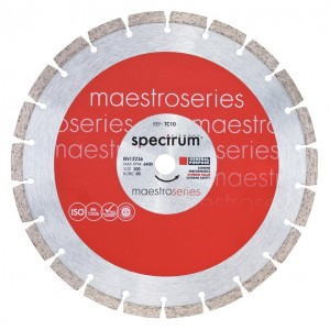 Spectrum TC10 Standard General Purpose Diamond Blade (Sizes 115mm - 350mm)
