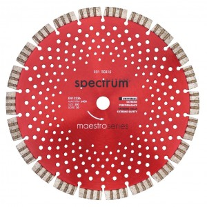 Spectrum TCX15 Pro Universal Turbo Segmented Diamond Blade (Sizes 115mm - 350mm)