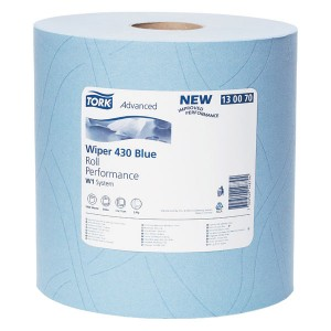 Tork 430 Advanced Performance Paper Hand Towel Wiper Roll (1000 Sheets)