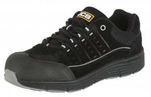 JCB TREKKER Lightweight Safety Trainer Black (Sizes 4-13)