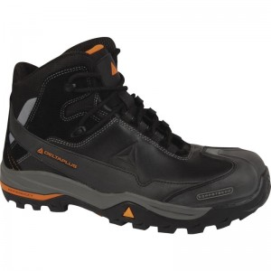 Delta Plus TW400 Safety Hiker Work Boots Black Non-metallic Size 7