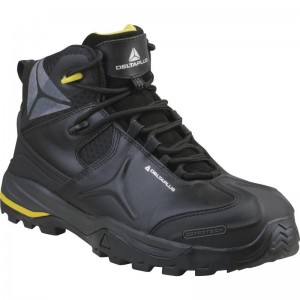 Delta Plus TW402 Safety Hiker Work Boots Black (Sizes 6-13) Non-Metallic