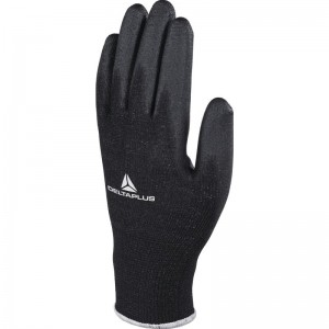 Delta Plus VE702PN Safety Gloves Black (Various Sizes) High-Tech PU