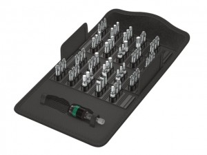 Wera Rapidaptor Bit-Holder & Universal Hex Insert Screwdriver Bits Set 61-Piece