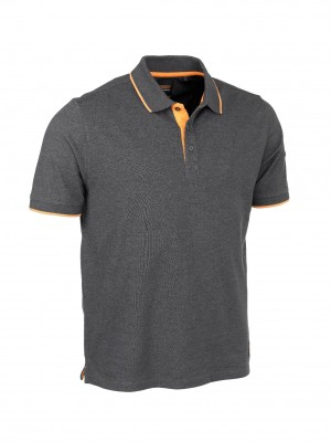 Worktough Pique Polo Shirt Dark Grey (Sizes S-XXXL)