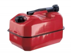 Metal Red For Leaded Fuel Can (Various Sizes)