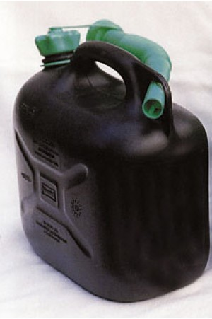 Plastic Black Diesel Fuel Can (Various Sizes)