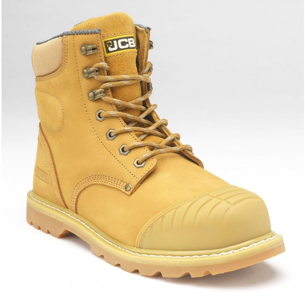 6c1d1a3596d JCB 5CX+ Safety Work Boots Honey (Sizes 6-13)