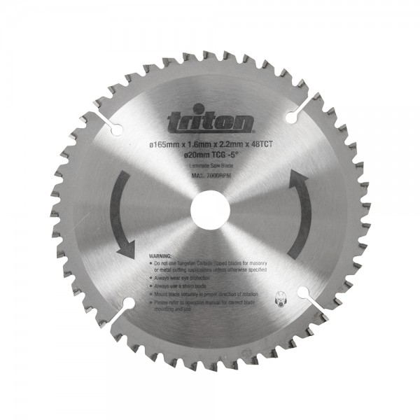 Triton replacement tts48tcg tungsten carbide blade for tts1400 triton replacement tts48tcg tungsten carbide blade for tts1400 plunge track saw 48t circular saw blades cutting grinding power tool accessories keyboard keysfo Gallery