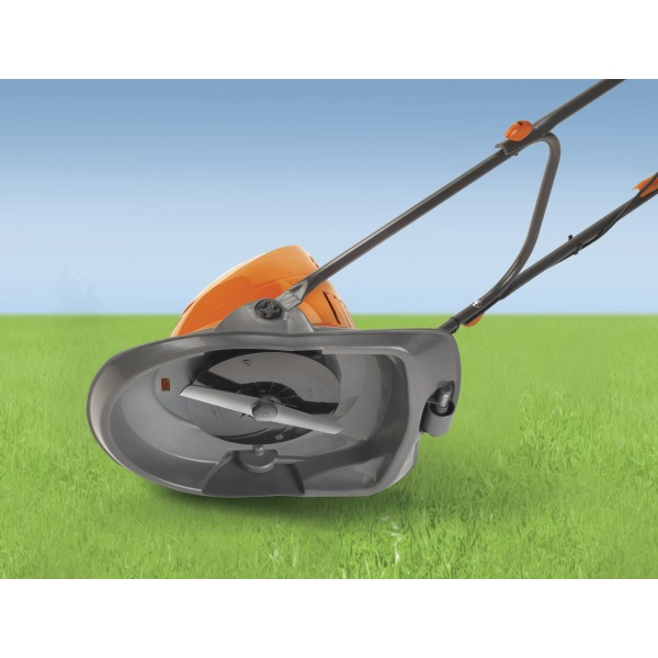 Flymo Turbo Lite 250 Electric Hover Lawn Mower 25cm 10in