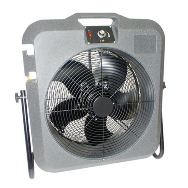 First Electric Fan : Elite tempest industrial cooling fan trolley mad tools