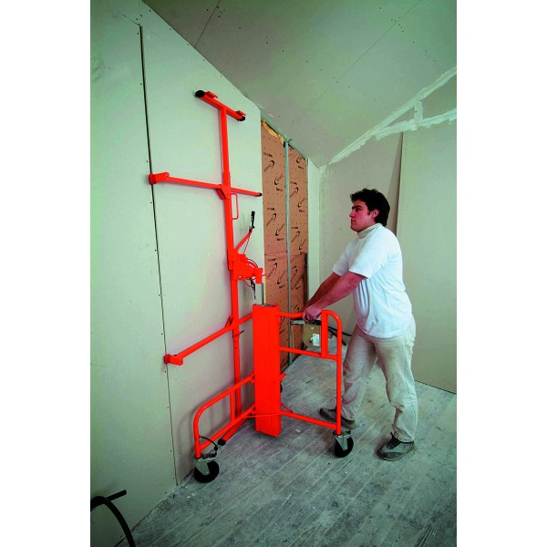 Panel Lifting Devices : Levpano combi pro plasterboard lifter horizontal