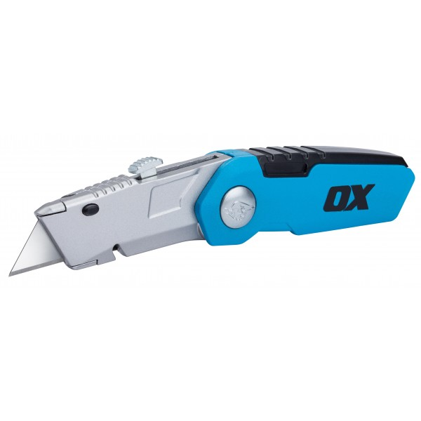 OX Pro Retractable Blade Folding Knife / Utility Knife