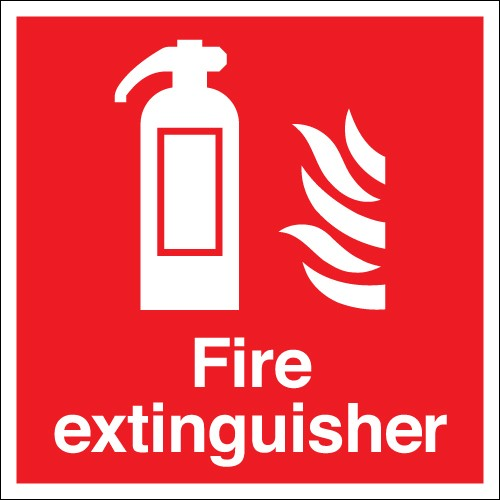 Fire Safety Sign Fire Extinguisher Mad4tools Mad4tools