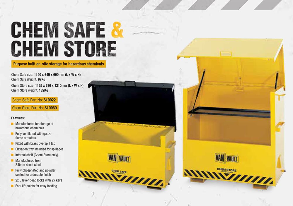 5649676968 Chem Store Chemical Safe Box S10069