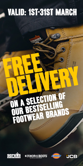 Free Delivery On  selection Of Our Best Selling Footwear Brands